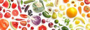 Eet de regenboog Chinese voedingsleer